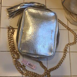 "8x6"" Victoria's Secret crossbody bag with chain"